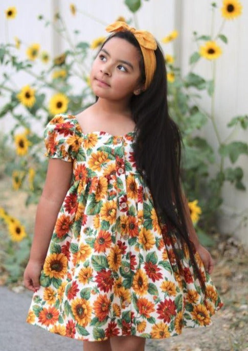 Marigold Top, Mini and Dress <br> Digital Sewing Pattern