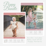 Bundle - Baby and Child Poppy <br> Digital Sewing Pattern