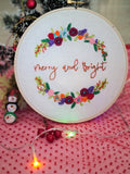 Holly <br> Digital Hand Embroidery Pattern