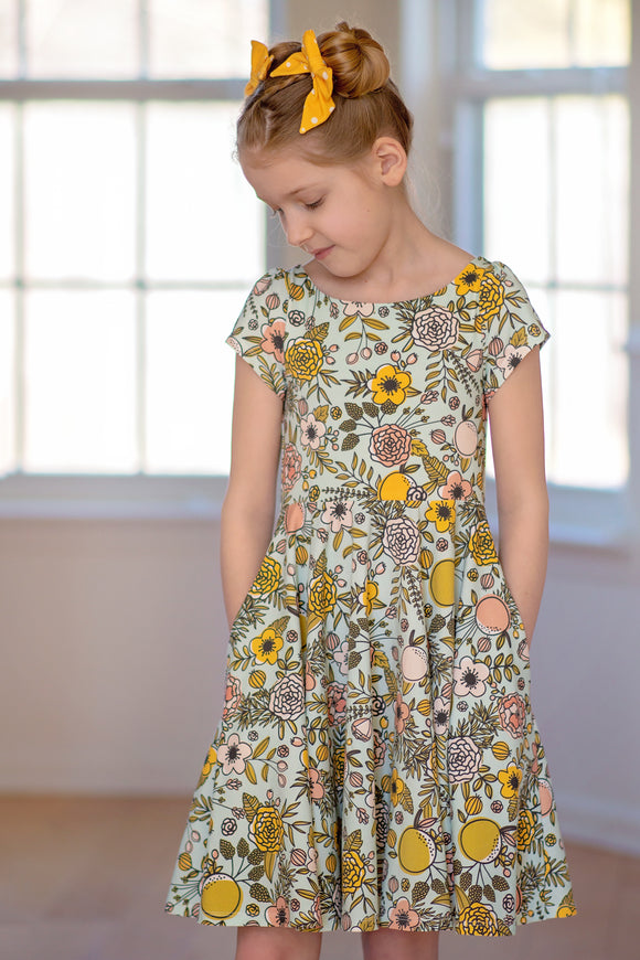 Wattle Dress <br> Digital Sewing Pattern