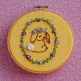 Larkspur <br> Digital Hand Embroidery Pattern