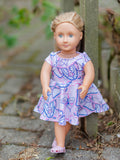 Doll Wattle Dress <br> Digital Sewing Pattern