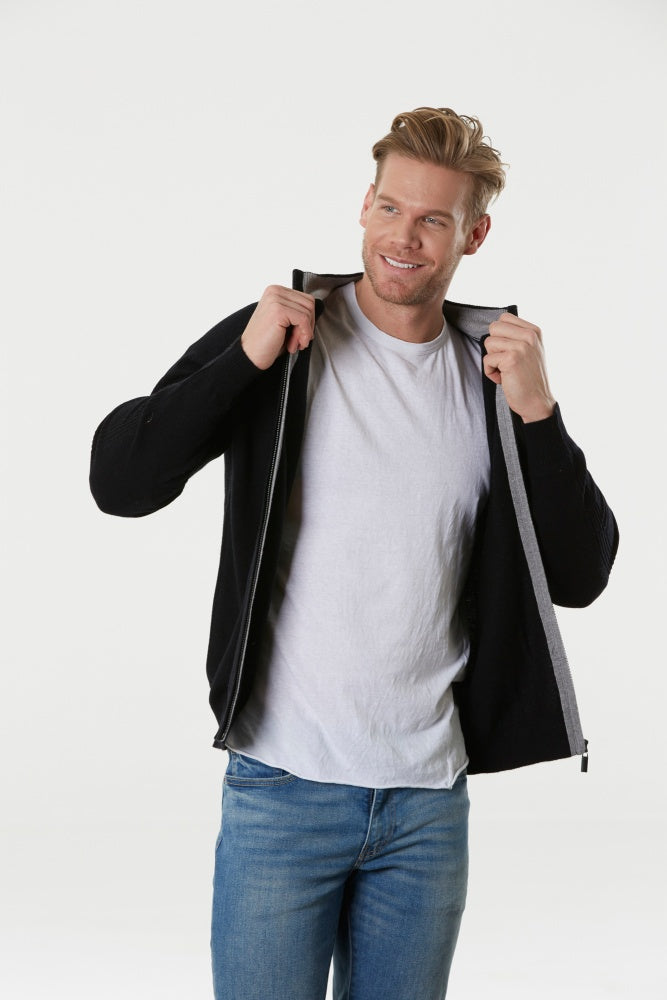 Bridge & Lord 9516 Zip Cardigan