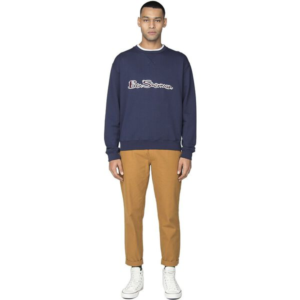 Ben Sherman Archive Logo Carrier Sweat