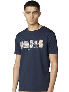 Ben Sherman 3X1 on Brand Fill T Shirt