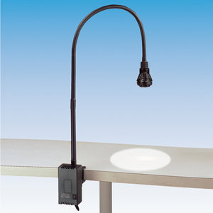 Heine HL1200 Exam Task Light Black with Universal Clamp - SSS Australia Clearance