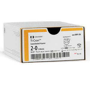 Sutures Ticron D&G 3/0 24mm B36 3050-41 - SSS Australia Clearance