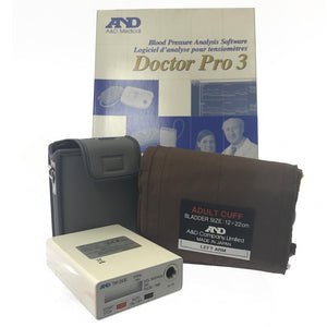 A&D 24Hr ABPM TM2430 with DrPro Software & Adult Cuff - SSS Australia Clearance