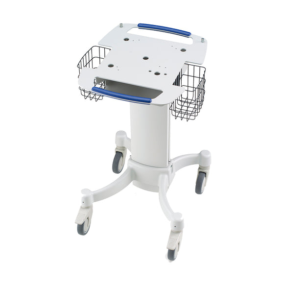 Welch Allyn CP100/CP200 Hospital Cart W/Out Cable Arm/Shelf - SSS Australia Clearance
