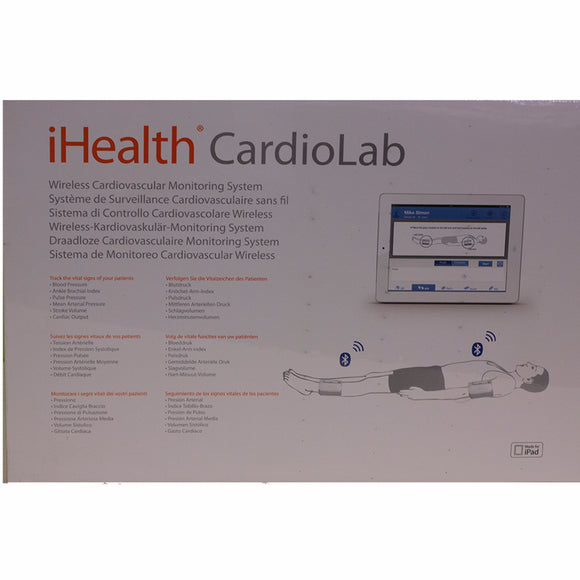 iHealth Pro Wireless ABI Monitoring System for iPad WSLST - SSS Australia Clearance