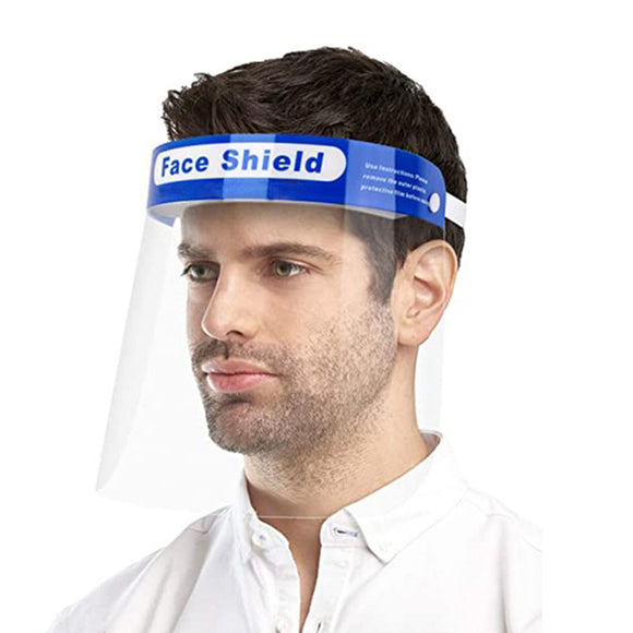 Disposable Face Shield Pk 10 - SSS Australia Clearance