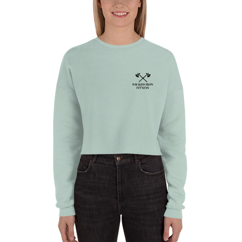 Axe Crop Sweatshirt