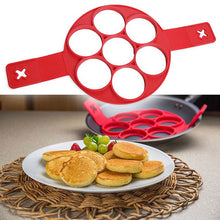Load image into Gallery viewer, Non-Sticky Silicone Pancake/Eggs Maker