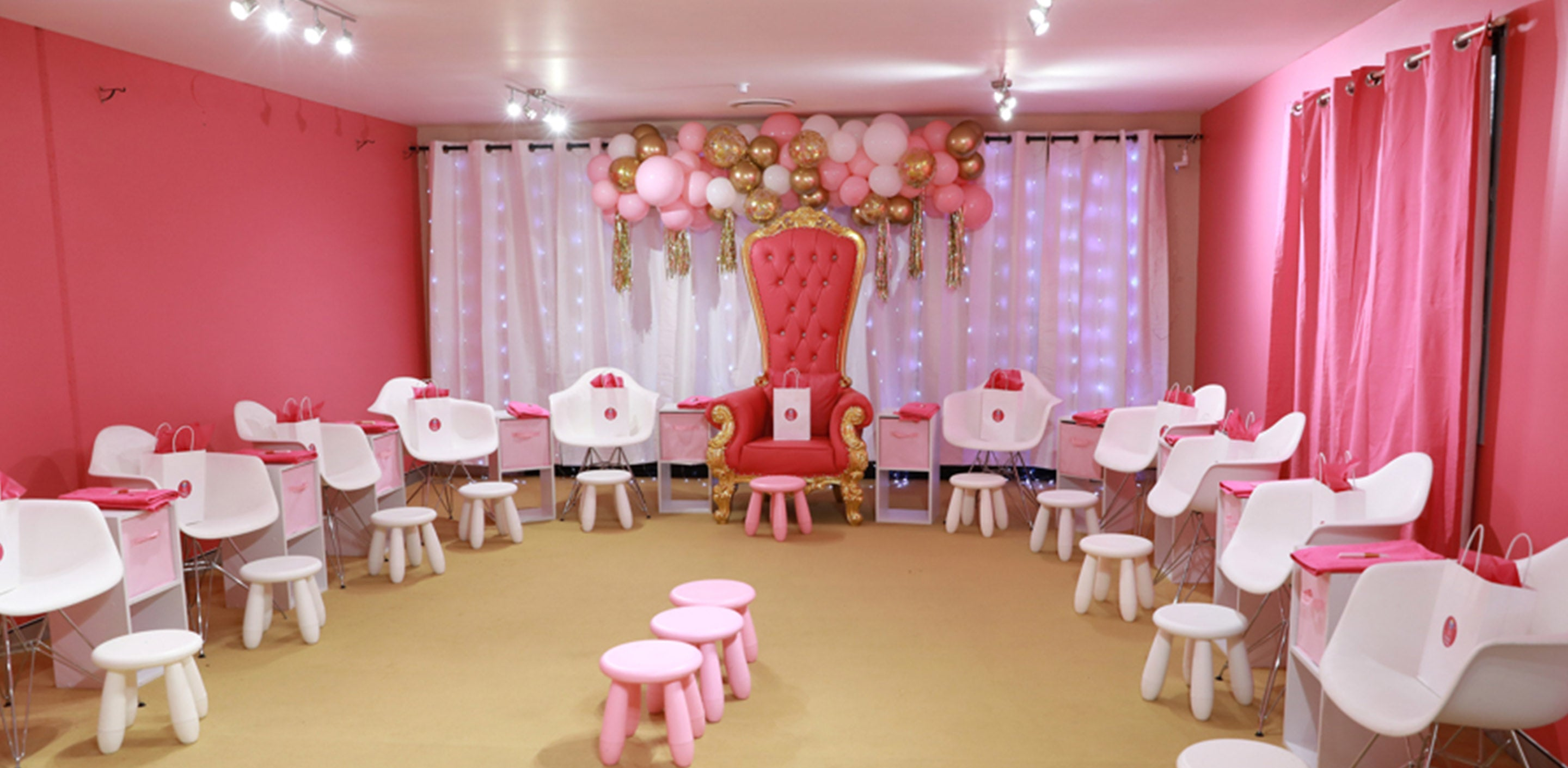 The Pamper Room where pamper parties and makeover magic happens - gold coast day spa for kids