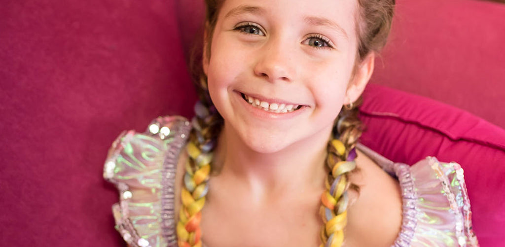 School Holiday Events and treatements - Unicorn braids