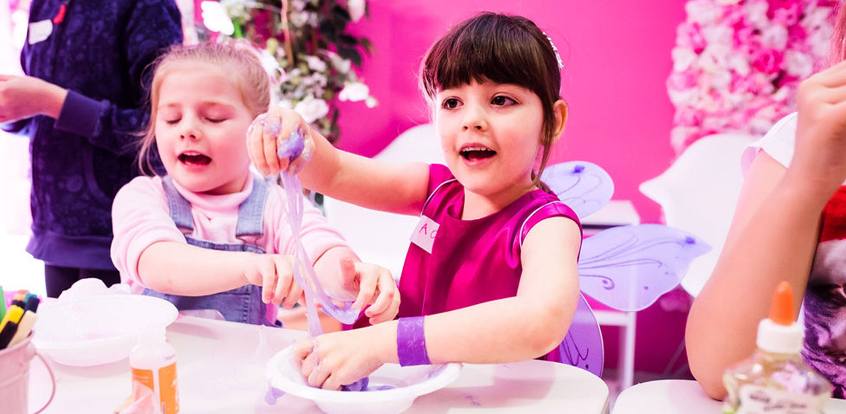 Make your own slime school holiday workshop gold coast summer school holiday program