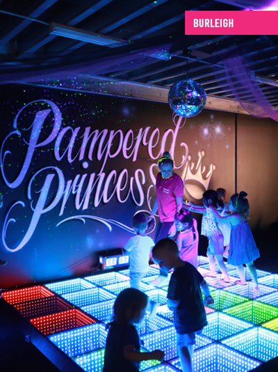 Kids Disco Party with Light up Disco Floor Gold Coast