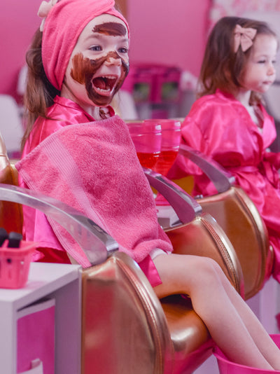 Pamper Party Kids Day Spa Salon - Kids Makeover salon treatment