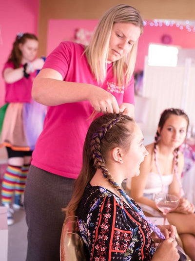 Learn to Braid workshop classes - learn to braid your daughters hair - gold coast hair classes for kids
