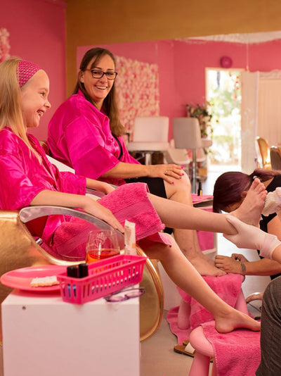 Mummy & Me Pedicure - Deluxe Mother and Daughter Spa Day pamper treatment
