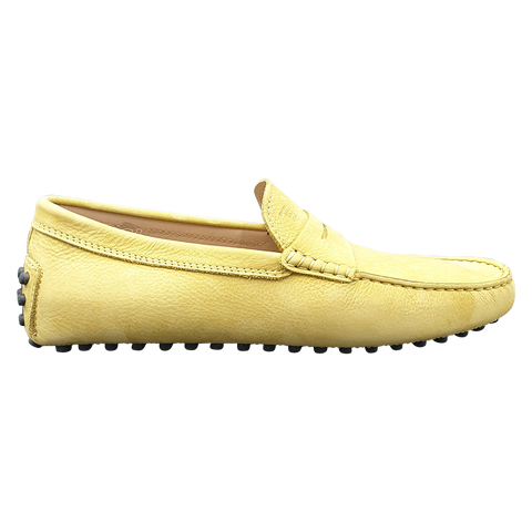Tod's men loafers/slip-ons yellow
