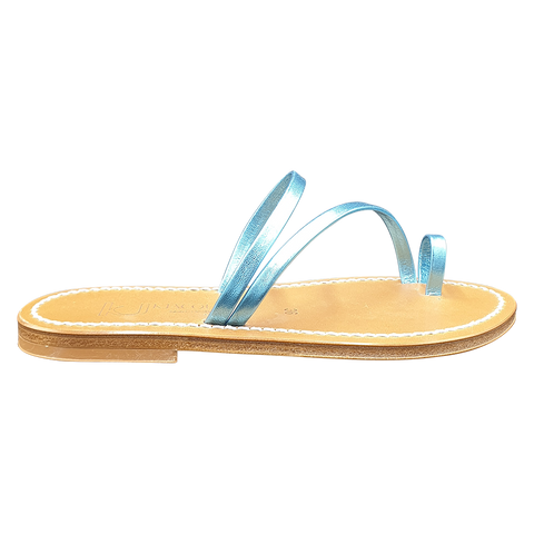 K-Jacques women sandals turquoise
