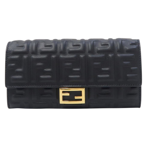 Fendi women wallet black