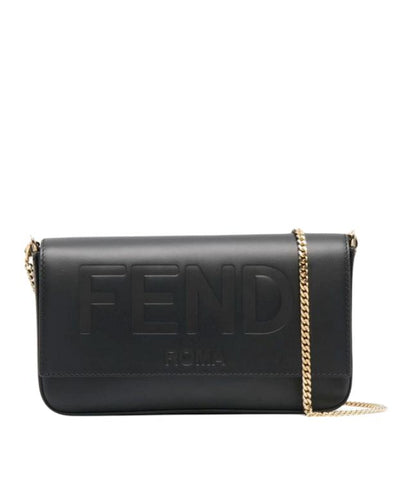Fendi script mini bag