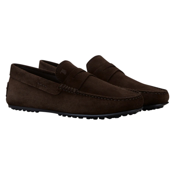 Tod's men loafers/slip-ons brown