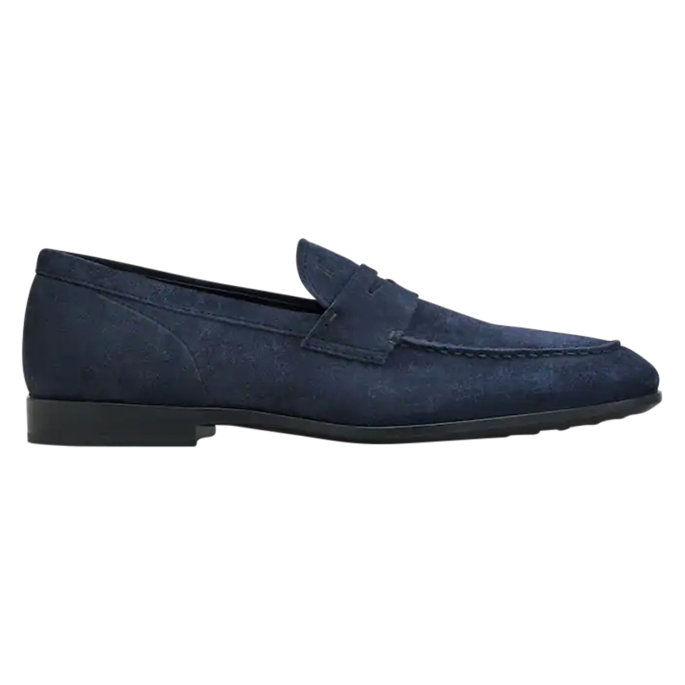 Tod's men loafers/slip-ons navy