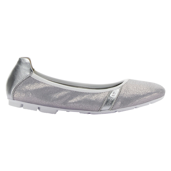 Hogan women loafers/slip-ons silver