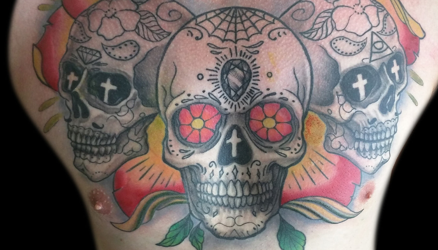 Day Of The Dead Tatuering