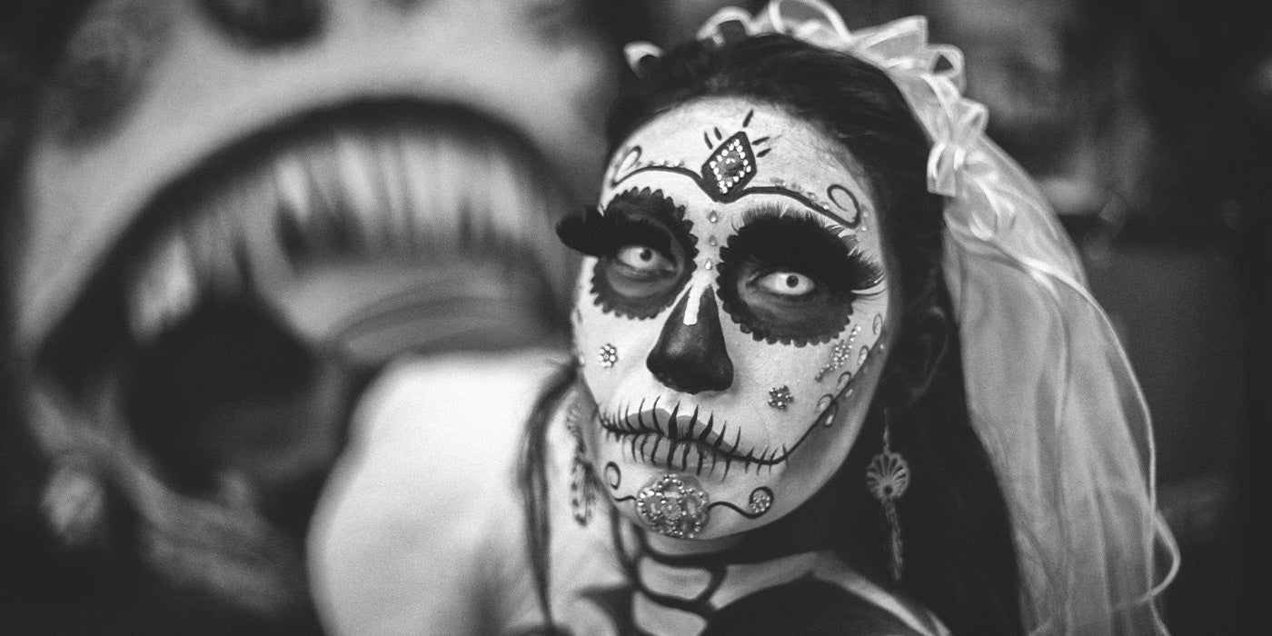 Day Of The Dead Sminkning