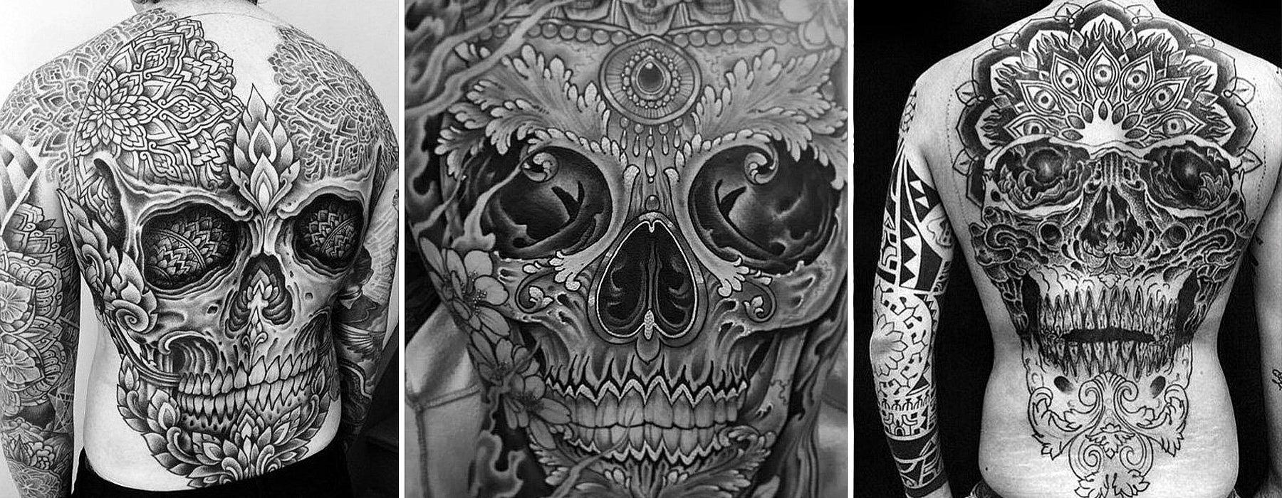 Mexikanska Day Of The Dead Tatueringar