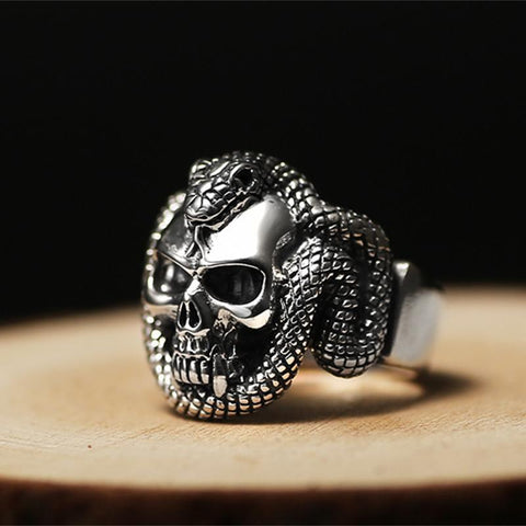 Ring Orm Silver