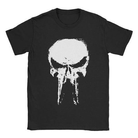 Svart T-Shirt Punisher
