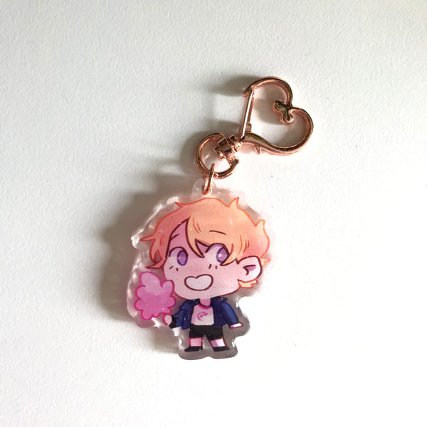 "2"" Cotton Candy Connor Mini Charm"