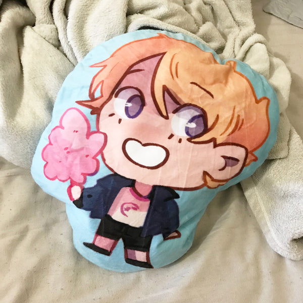 Cotton Candy Connor Soft Plush Pillow