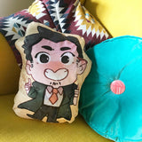 Gumshoe Soft Plush Pillow