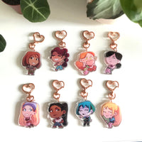 Total Drama Mini Charms [BUY 2 GET 3]