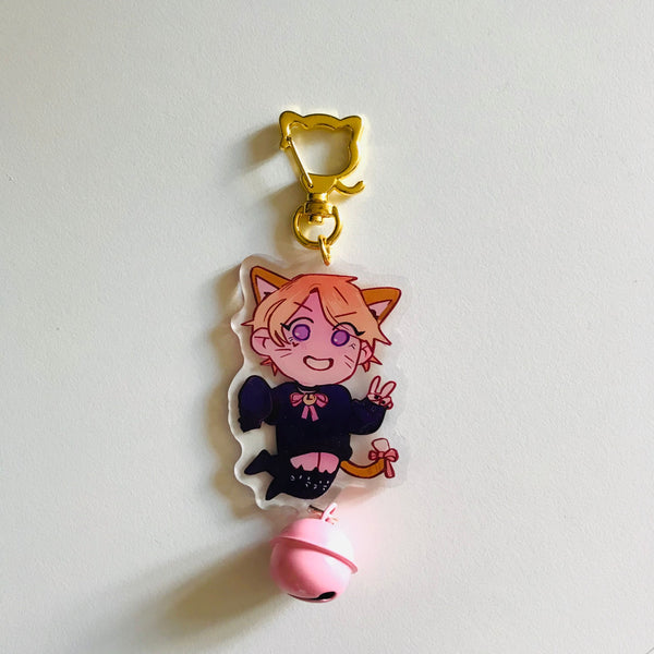 "2.5"" Catboy Connor Bell Charm"