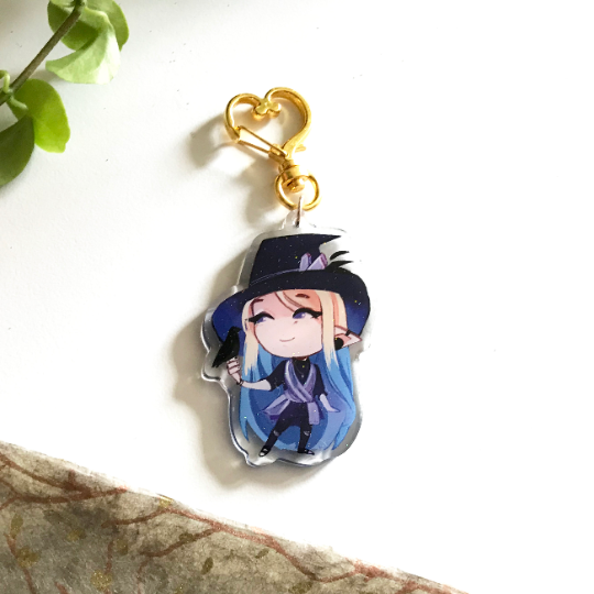 "Witch Hat Laz 2.5"" Charm"