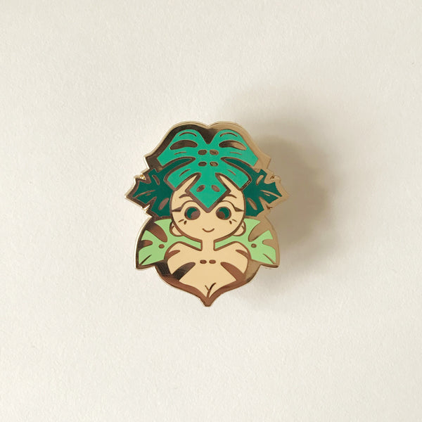 Mona - Houseplant Gals Pin Collection