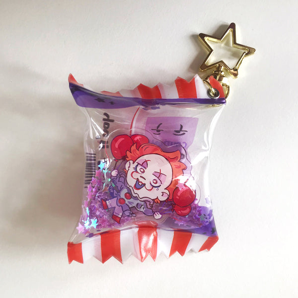 Pennywise the Clown Candy Bag Charm