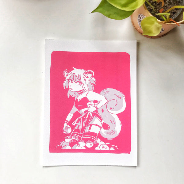Squirrel Anna Print
