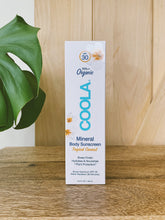 Load image into Gallery viewer, COOLA Mineral Body Organic Sunscreen Lotion 5oz. SPF 30 - Unscented & Coconut