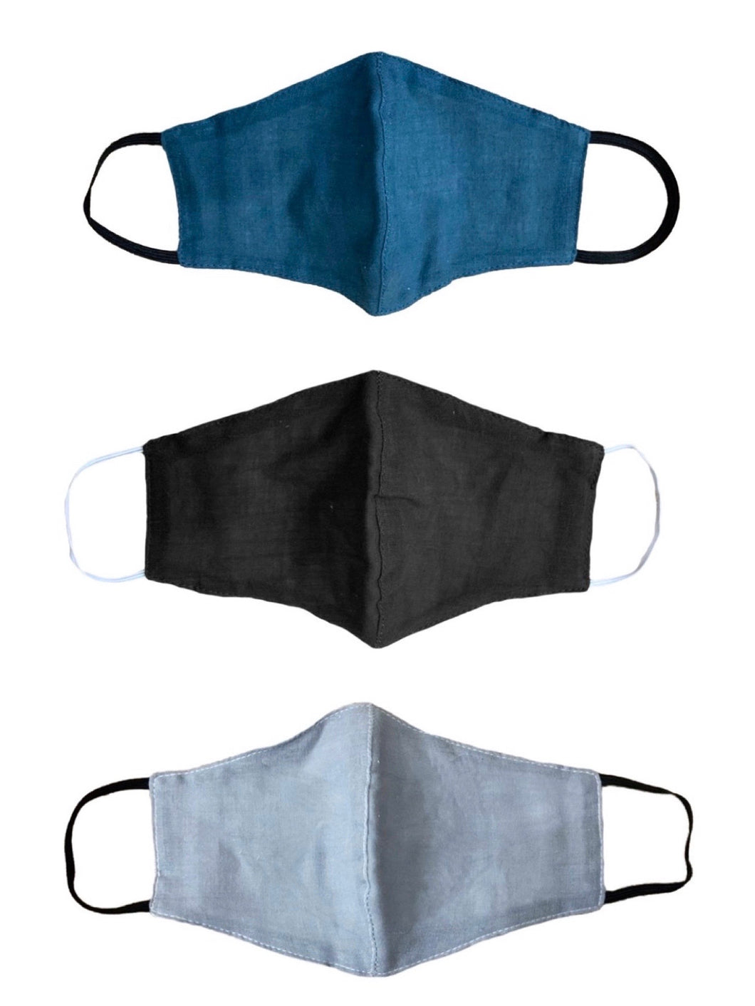 Lotus & Luna Cotton Face Mask with Filter Slip
