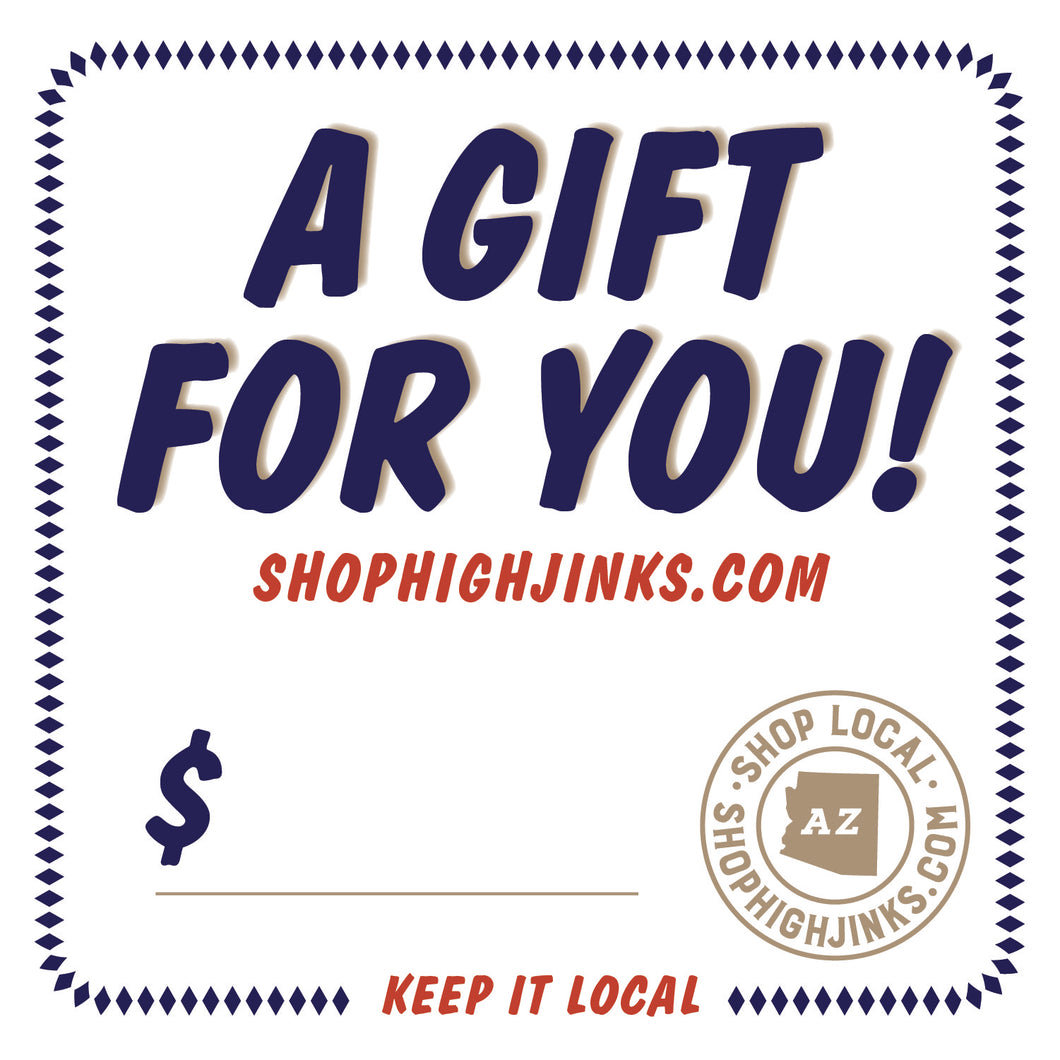 High Jinks Apparel Gift Card