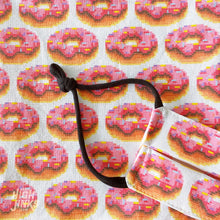 Load image into Gallery viewer, 100% Cotton Washable KIDS Face Mask : 8-Byte Donuts