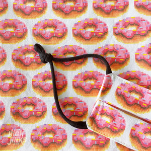 100% Cotton Washable KIDS Face Mask : 8-Byte Donuts